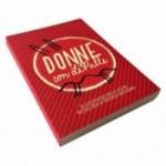Donne con LePalle calepin, collection reliée de 48 cartes illustrées.