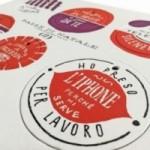 Palle di Natale - Boules de Noël - 3ème édition, Planche 2 – six disques décoratifs imprimés sur carton recyclé