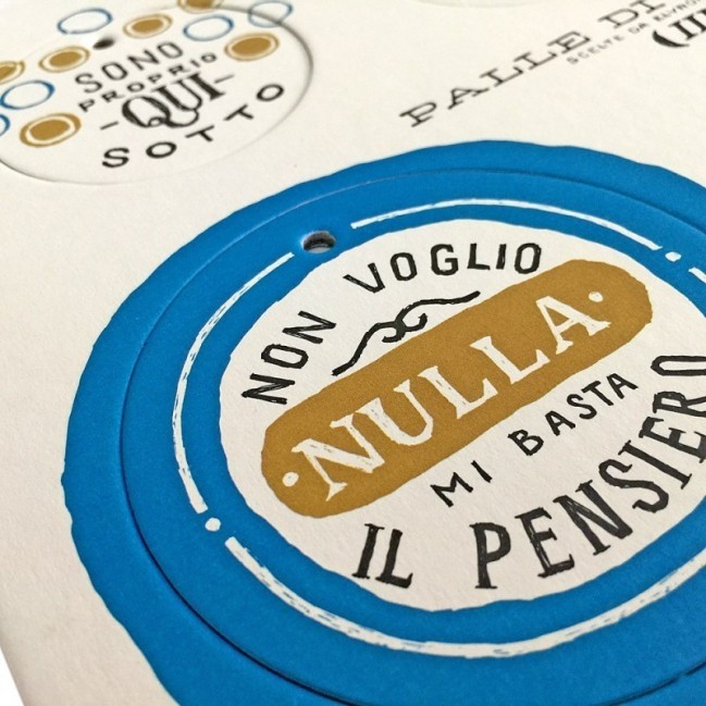 Palle di Natale - Boules de Noël - 3ème édition, Planche 3 – six disques décoratifs imprimés sur carton recyclé