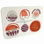 Palle di Natale - 2a edizione, set completo di 4 tavole per 24 dischi decorativi stampati su cartone riciclato