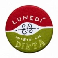 """La Pin de LePalle: spilla """"Lunedì inizio la dieta"""""""