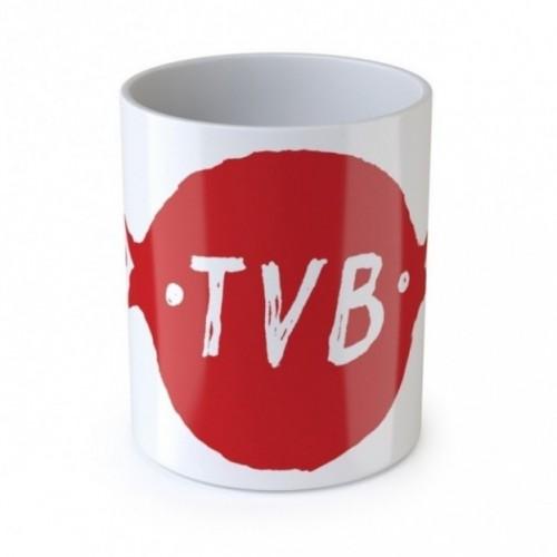 """Mug de l'amour """"TVB"""", tasse en céramique"""