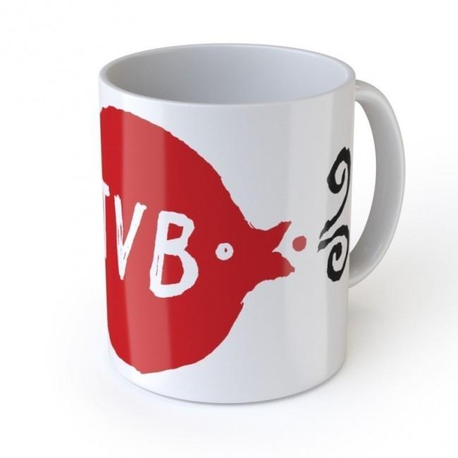 """Love Mug """"TVB"""" tazza in ceramica"""