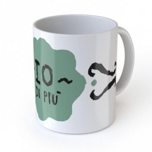 """Love Mug """"Io di pIù"""" tazza in ceramica"""