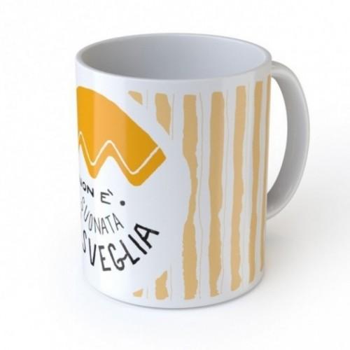 """Mug """"Non è suonata la sveglia"""", tasse en céramique"""