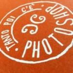 """Carnet """"Tanto poi c'è Photoshop!"""", couverture orange et intérieur en papier noir."""