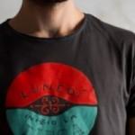 """T-shirt homme """"lunedì inizio la dieta"""" 100% coton coloris gris anthracite"""