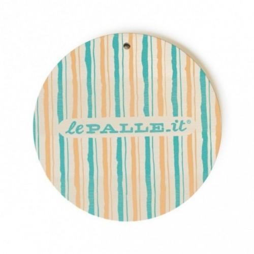 """Monopalla """"per te gli anni non passano mai"""", disco decorativo in legno stampato a colori"""