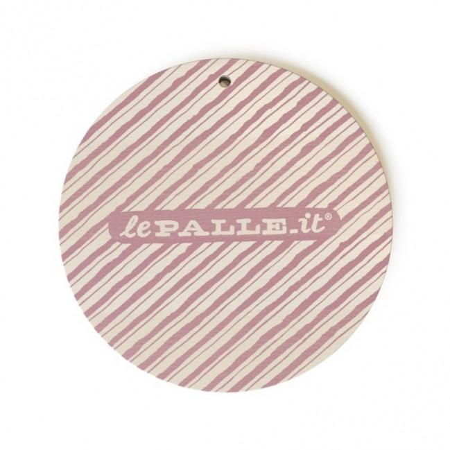 """Monopalla """"non ho mai niente da mettermi"""", disco decorativo in legno stampato a colori"""