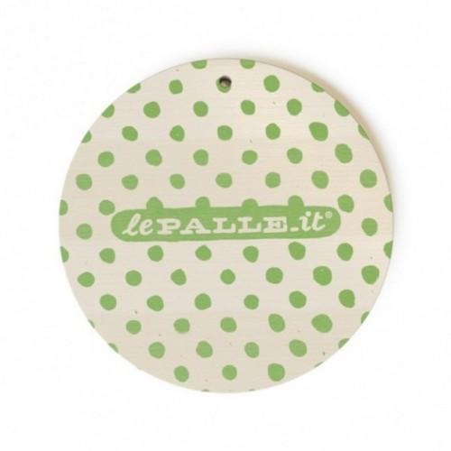 """Monopalla """"non mi sono dimenticato"""", disco decorativo in legno stampato a colori"""
