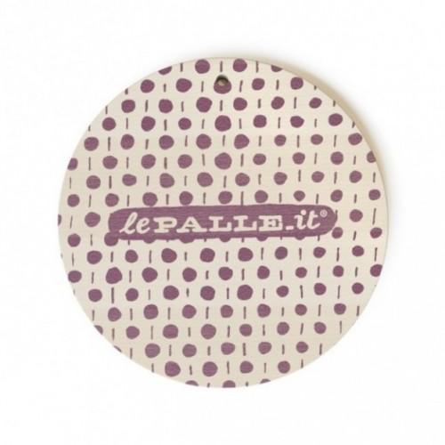 """MonoPipeau """"è un regalo utilissimo"""" disque décoratif en bois imprimé en couleurs"""